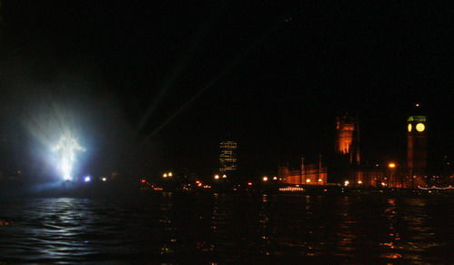 Dr Manhattan on The Thames