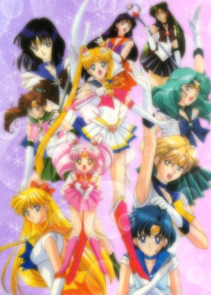 10 Girl Cartoons (That Guys Secretly Love) - Sailor Moon R
