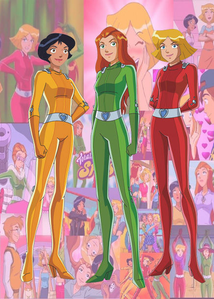 10 Girl Cartoons (That Guys Secretly Love) - Totally Spies!