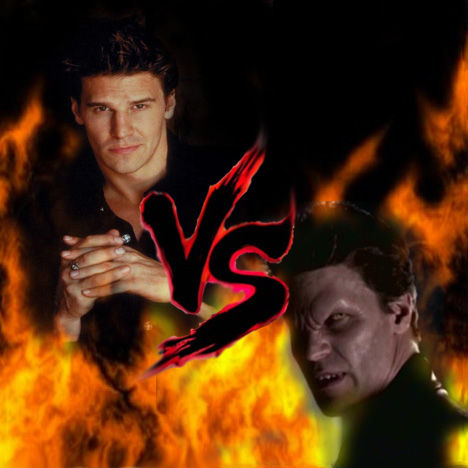 12 Epic TV Monster Battles - Angel vs Angelus 1