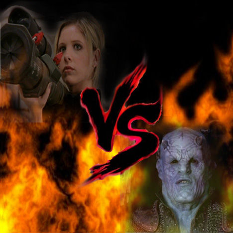 12 Epic TV Monster Battles - Buffy vs The Judge 1