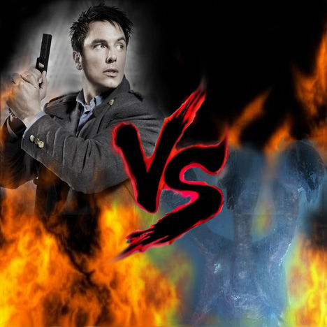 12 Epic TV Monster Battles - Captain Jack Harkness Vs The 456 1