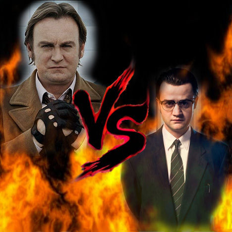 "12 Epic TV Monster Battles - Gene Hunt vs Jim ""The Devil"" Keats 1"