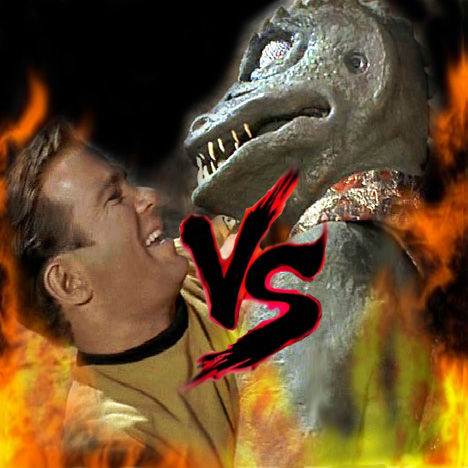 12 Epic TV Monster Battles - Kirk Vs Gorn 1