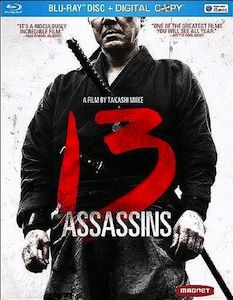 13 Assassins DVD Blu ray DVD/Blu ray Breakdown: July 5, 2011