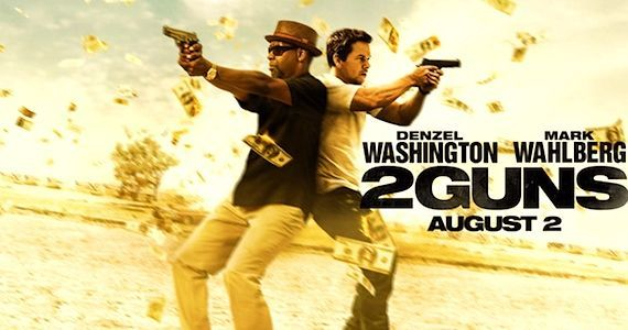 2 Guns Interview with Denzel Washington and Mark Wahlberg 2 Guns Interview: Denzel Washington & Mark Wahlberg on Being Buddy Cops