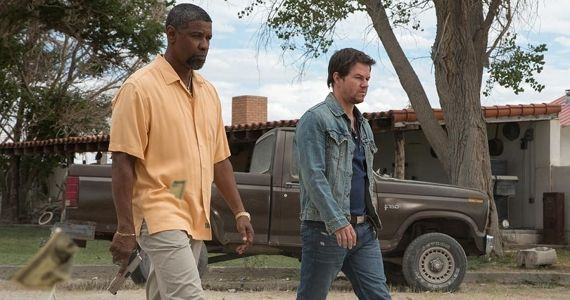 2 Guns Red Band Trailer 2 Guns Restricted Trailer: Washington & Wahlberg Kick Ass & Take Names