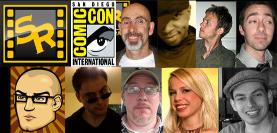 2012 SR Comic Con crew Comic Con 2012 Meet Up: Hang Out With The Screen Rant Team! [UPDATED]