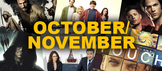 2012 fall tv schedule october november 2012 Fall TV Premiere Schedule   A Complete Guide