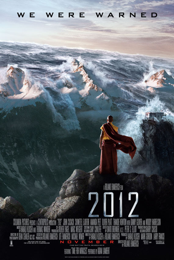 2012 poster3 New Posters: The Road, 2012, Where The Wild Things Are & More!