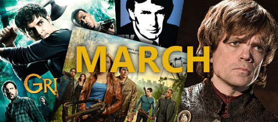 2013 tv premiere dates march 2013 TV Premiere & Return Dates   A Complete Guide