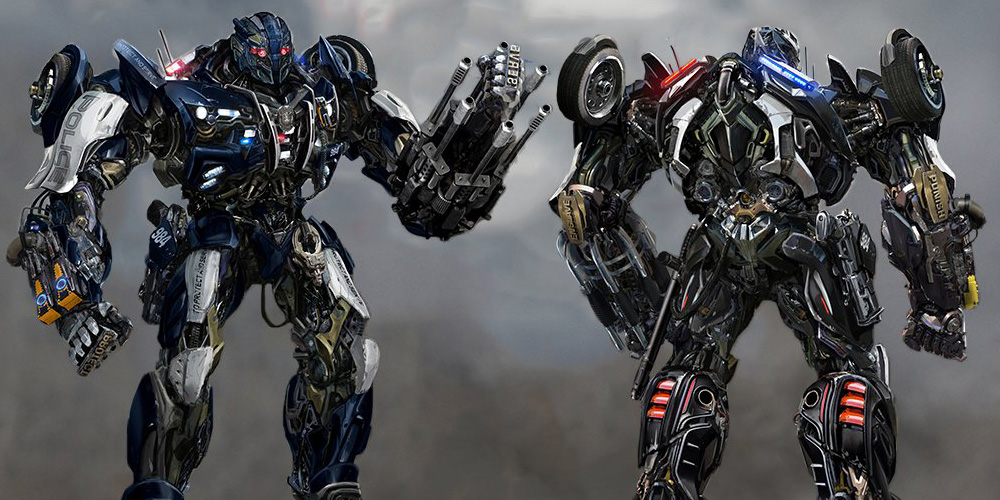Transformers 5 Barricade S Much Improved Robot Mode Revealed