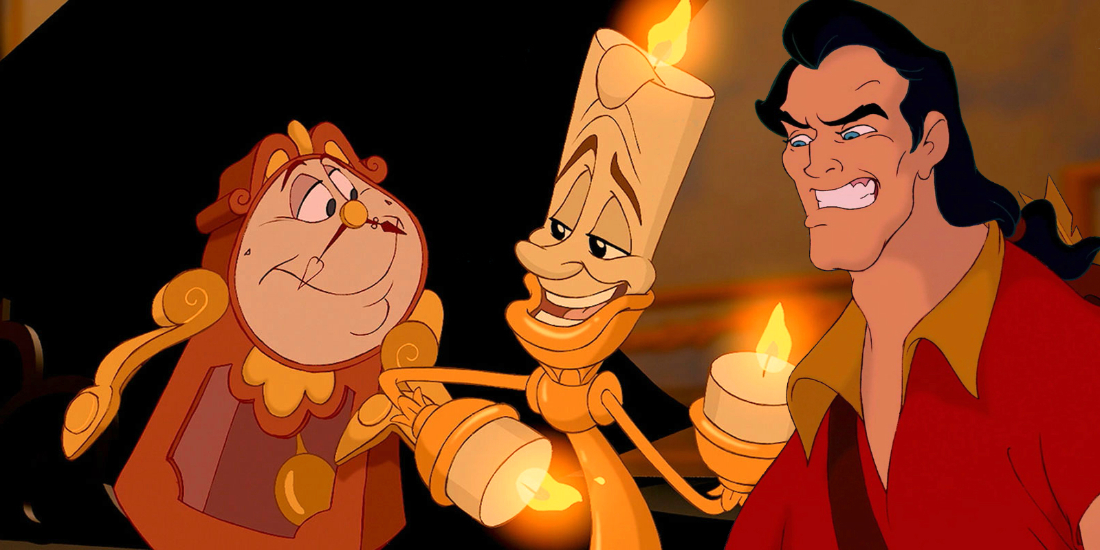 Beauty And The Beast: First Look At Lumiere, Cogsworth