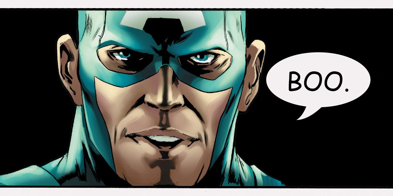 Captain America: Steve Rogers #4 edited panel