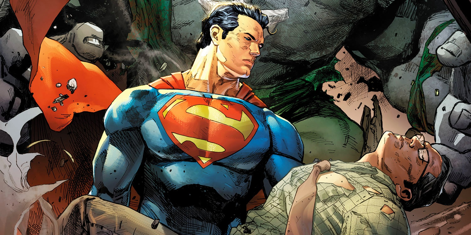 Superman meets clark kent in dc s rebirth for Kent superman