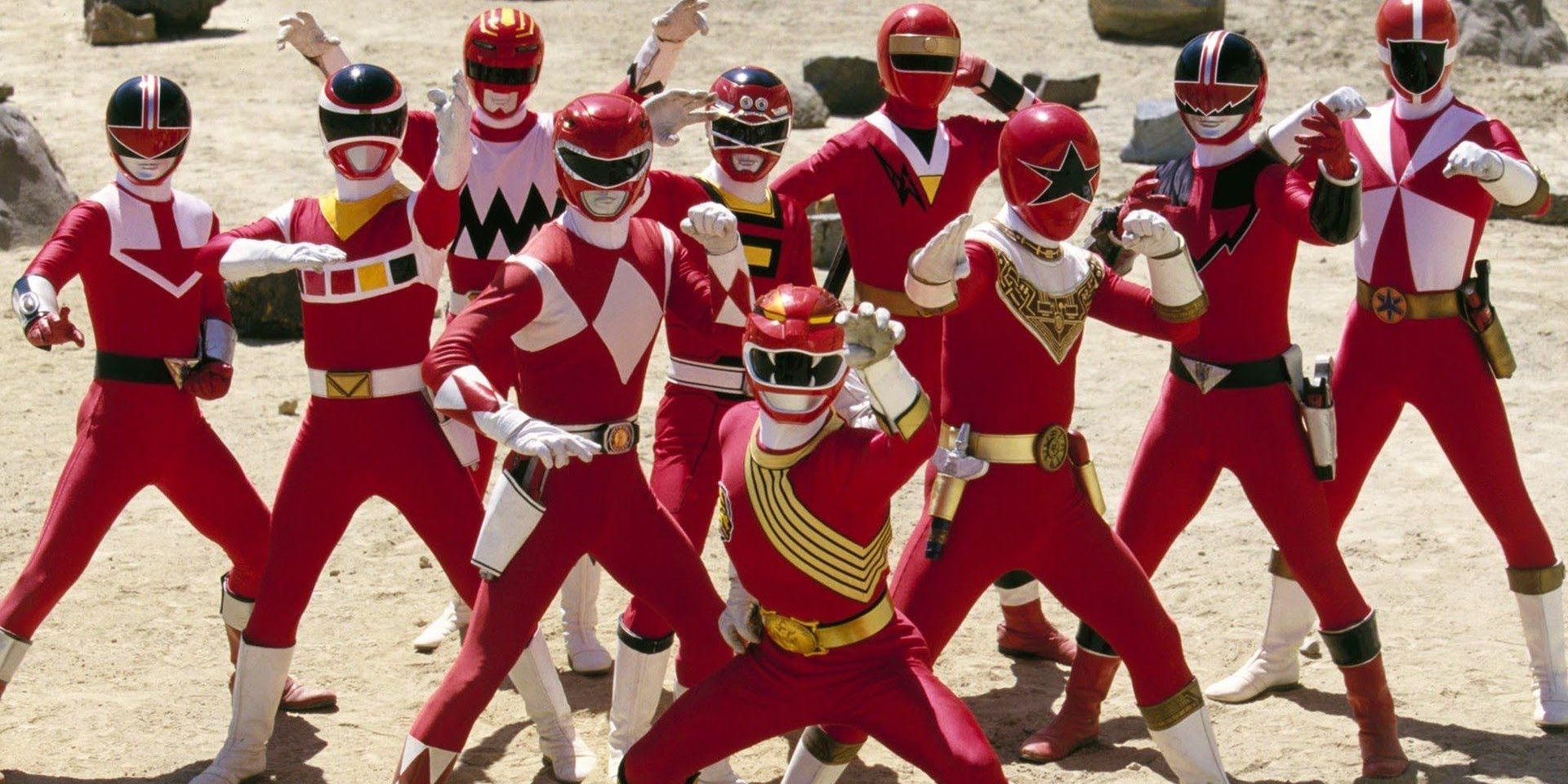 Every Red Power Ranger