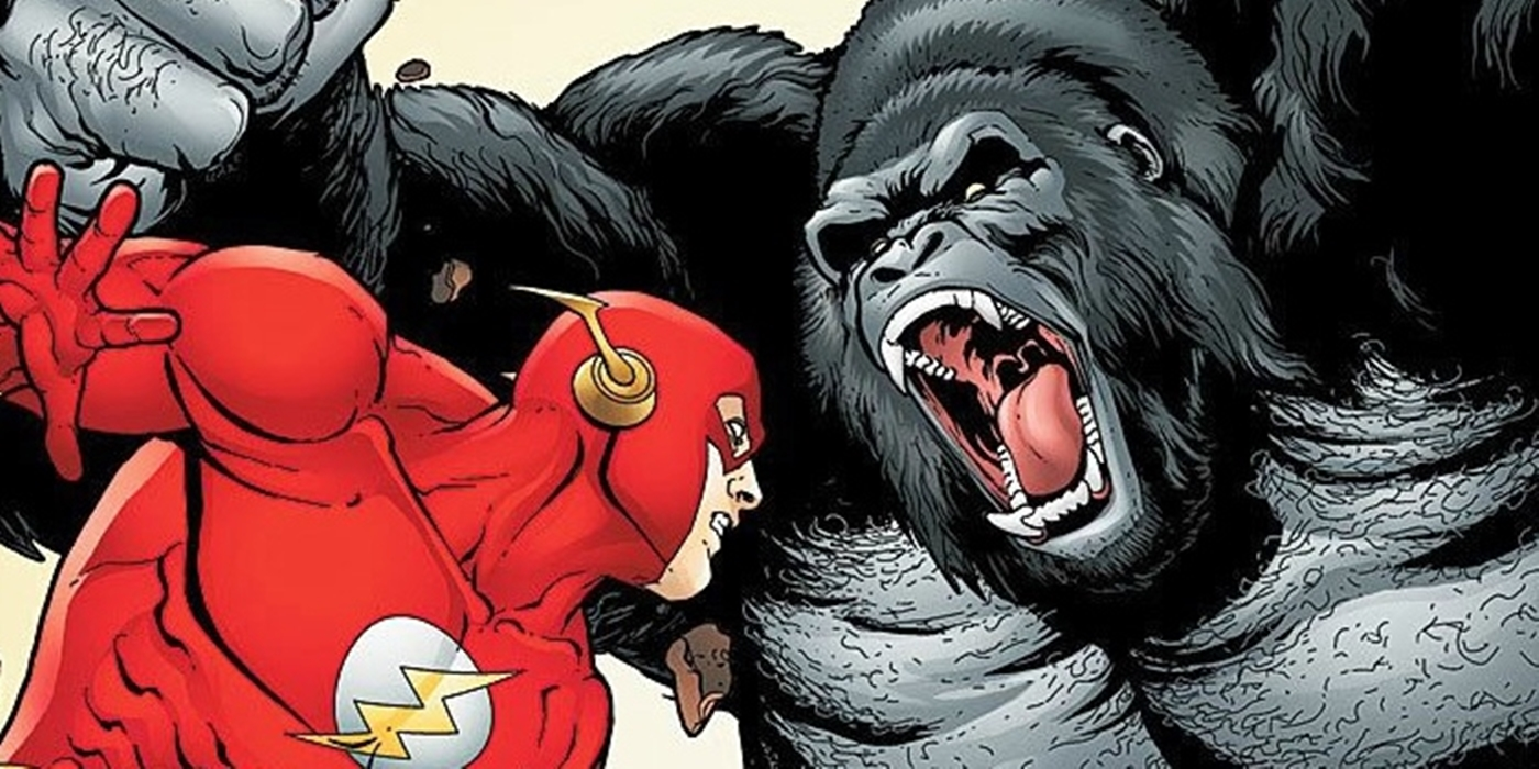 Flash Rogues Grodd