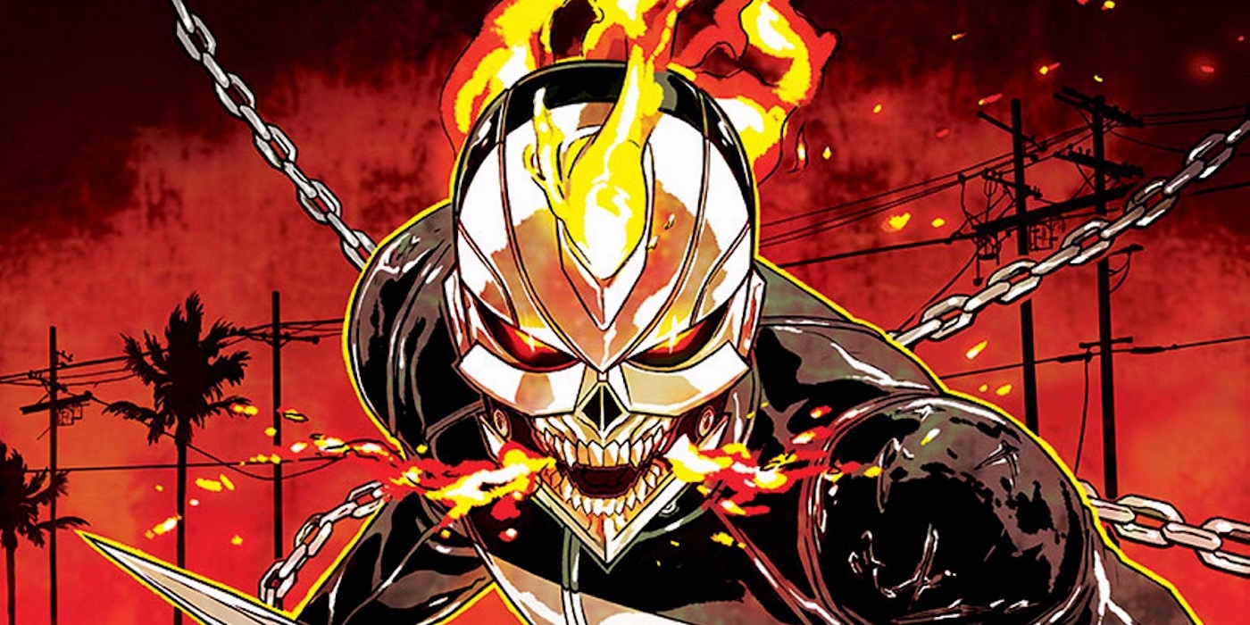 Ghost Rider Robbie Reyes Marvel Comics