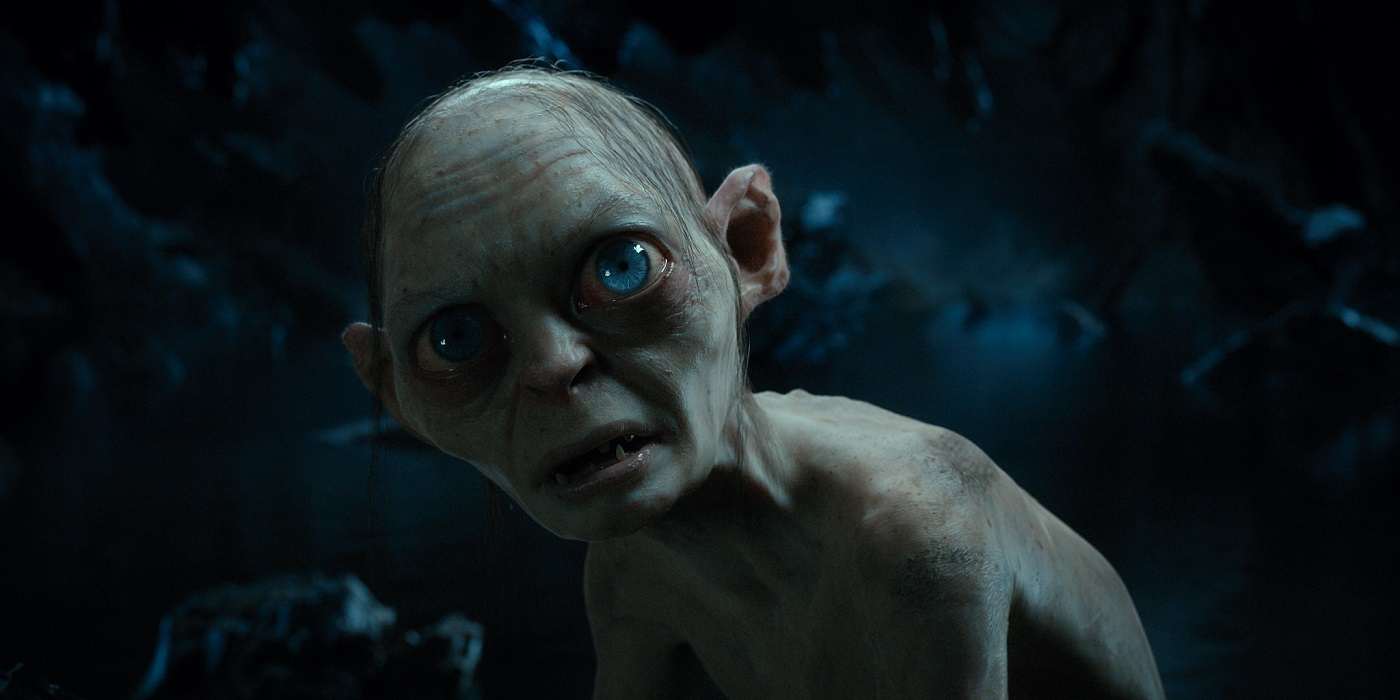 Gollum performed by Andy Serkis in The Hobbit