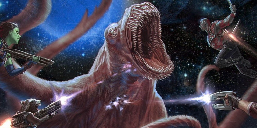 Guardians of the Galaxy 2's Monster Concept Art Explained