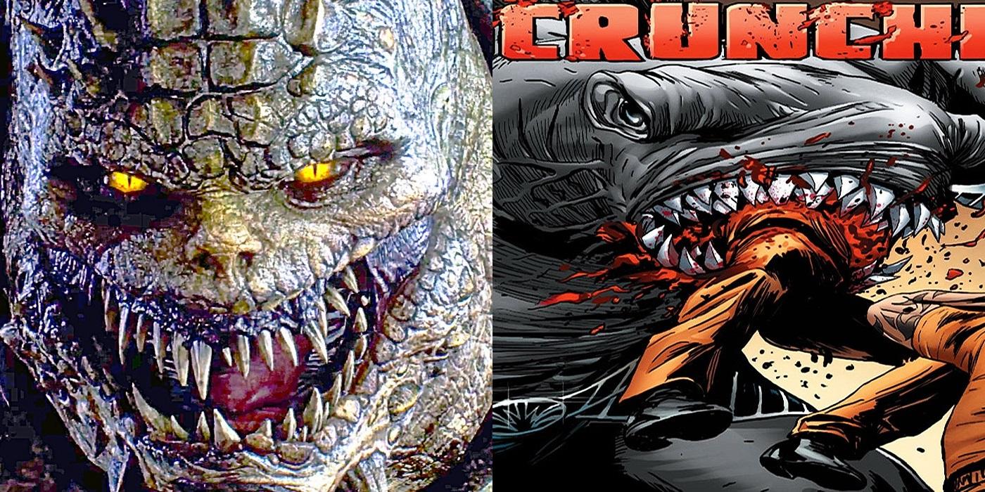 King shark vs killer croc - photo#52
