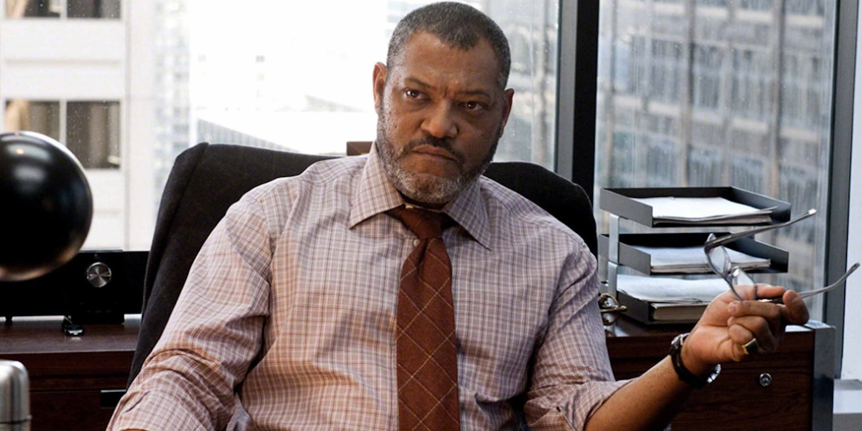 Laurence Fishburne as Perry White in Man of Steel