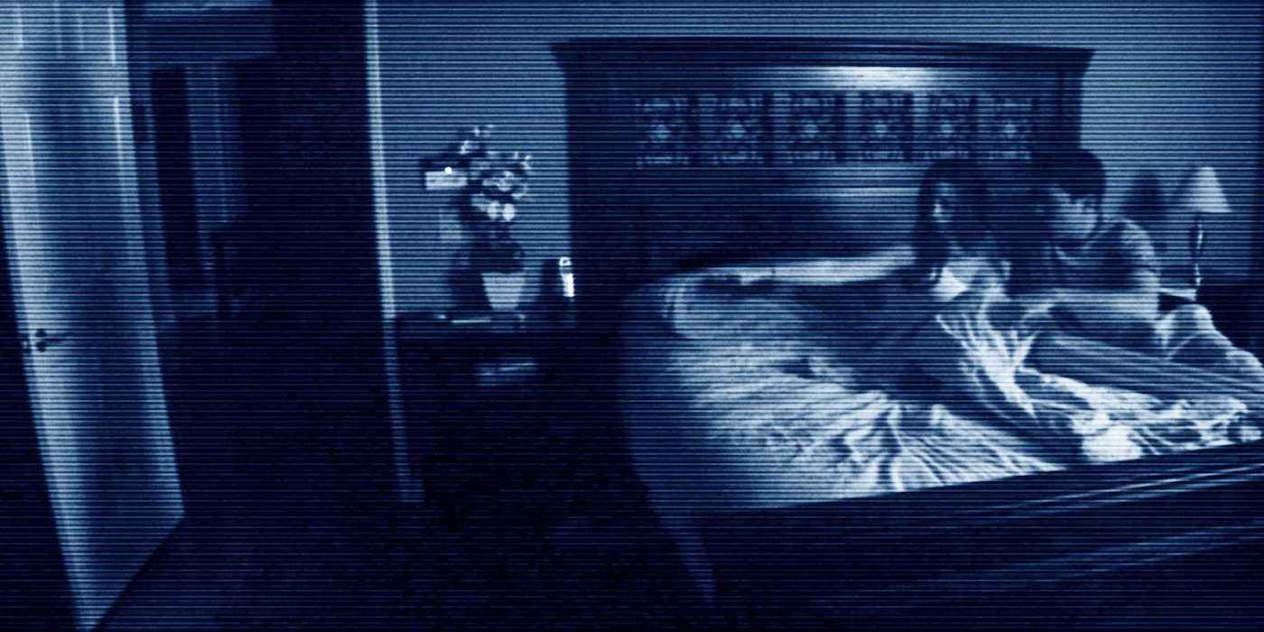 A spooky door stars in the first Paranormal Activity