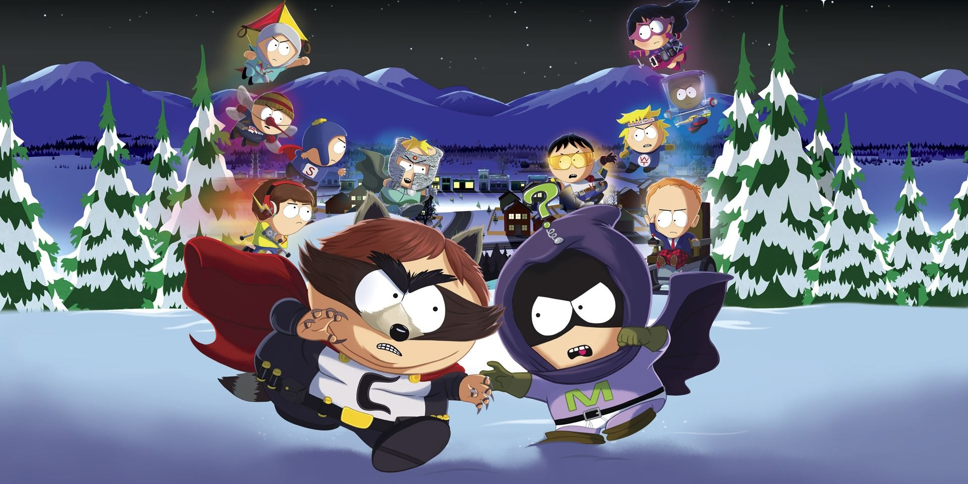 South Park Fractured But Whole Heroes