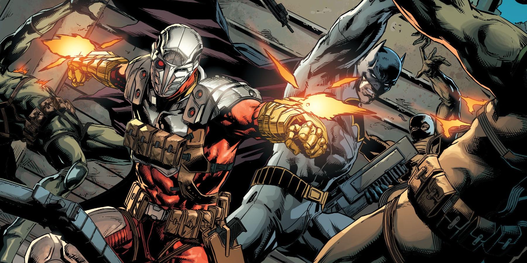 dc comics announces justice league vs suicide squad miniseries. Black Bedroom Furniture Sets. Home Design Ideas