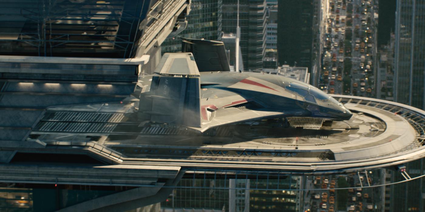 Avengers' Quinjet Spotted on Thor: Ragnarok Set?  Avengers' Q...