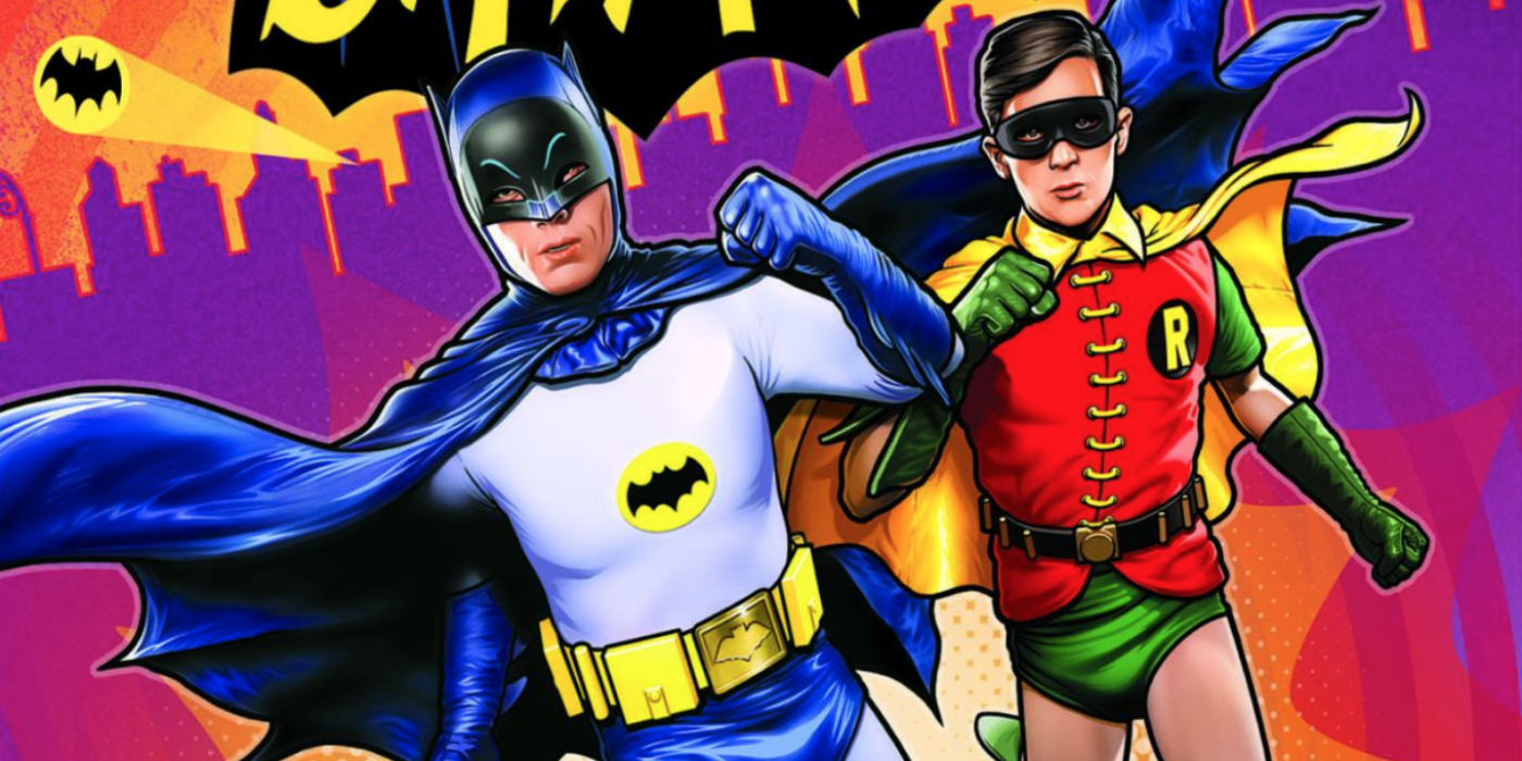 Batman: Return of the Caped Crusaders Blu-ray and DVD cover