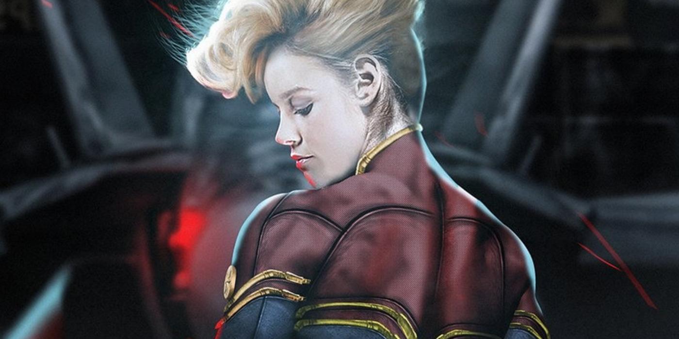 キャプテン・マーベル Hd: Brie Larson Responds To Fans Who Want Captain Marvel Mohawk