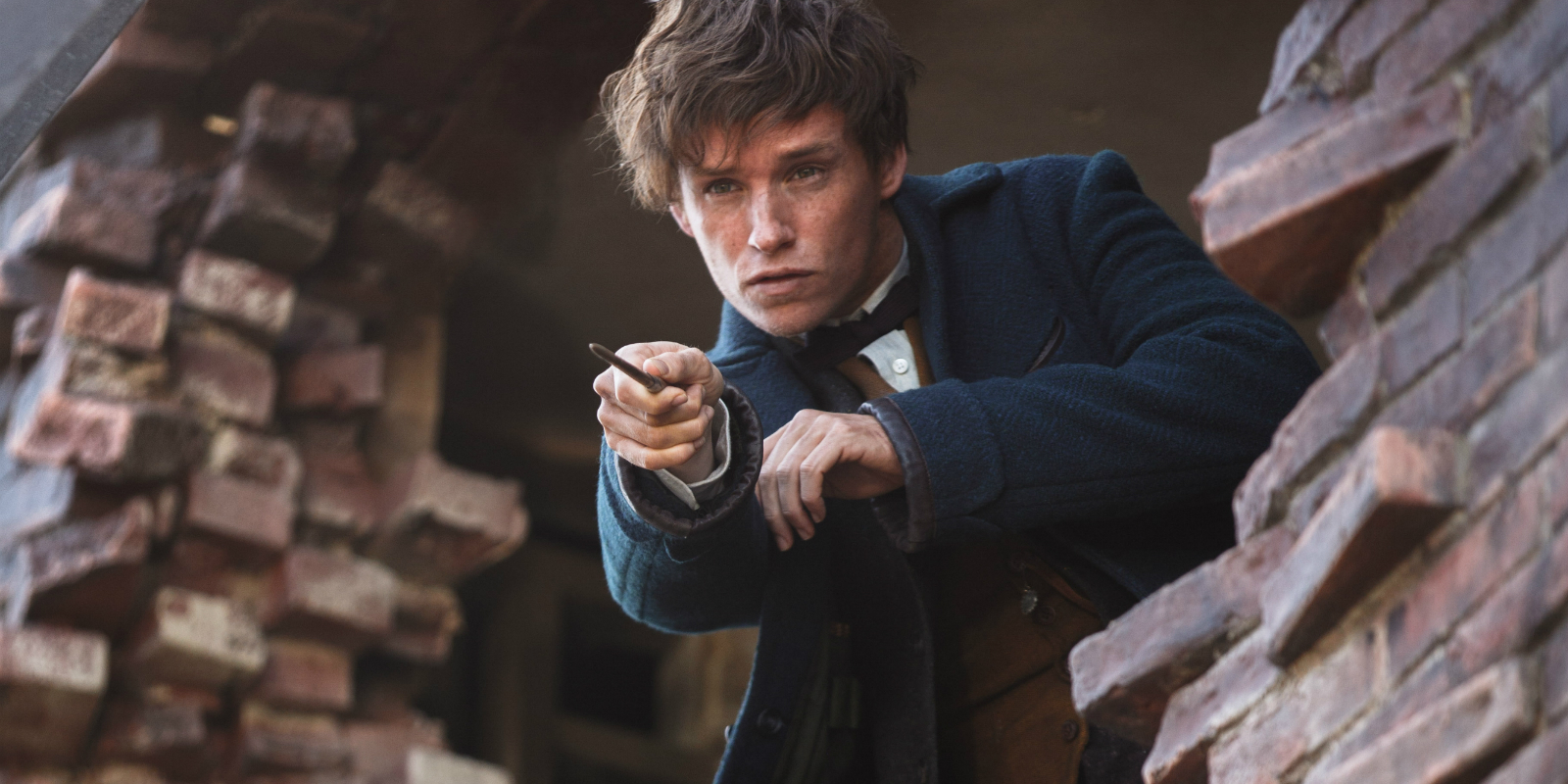fantastic beasts where find them eddie redmayne newt Fantastic Beasts: J.K. Rowling Announces Plans for 5 Movies