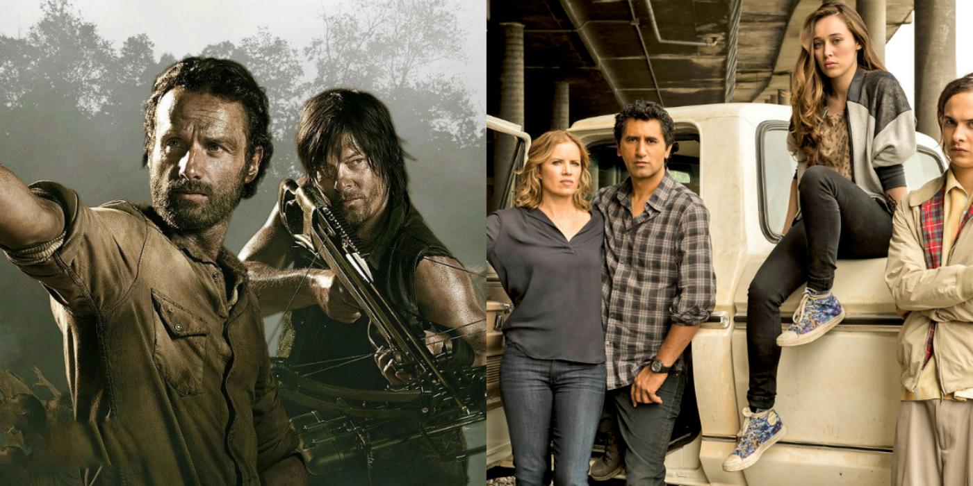 Walking Dead Fear Walking Dead Crossover Confirmed