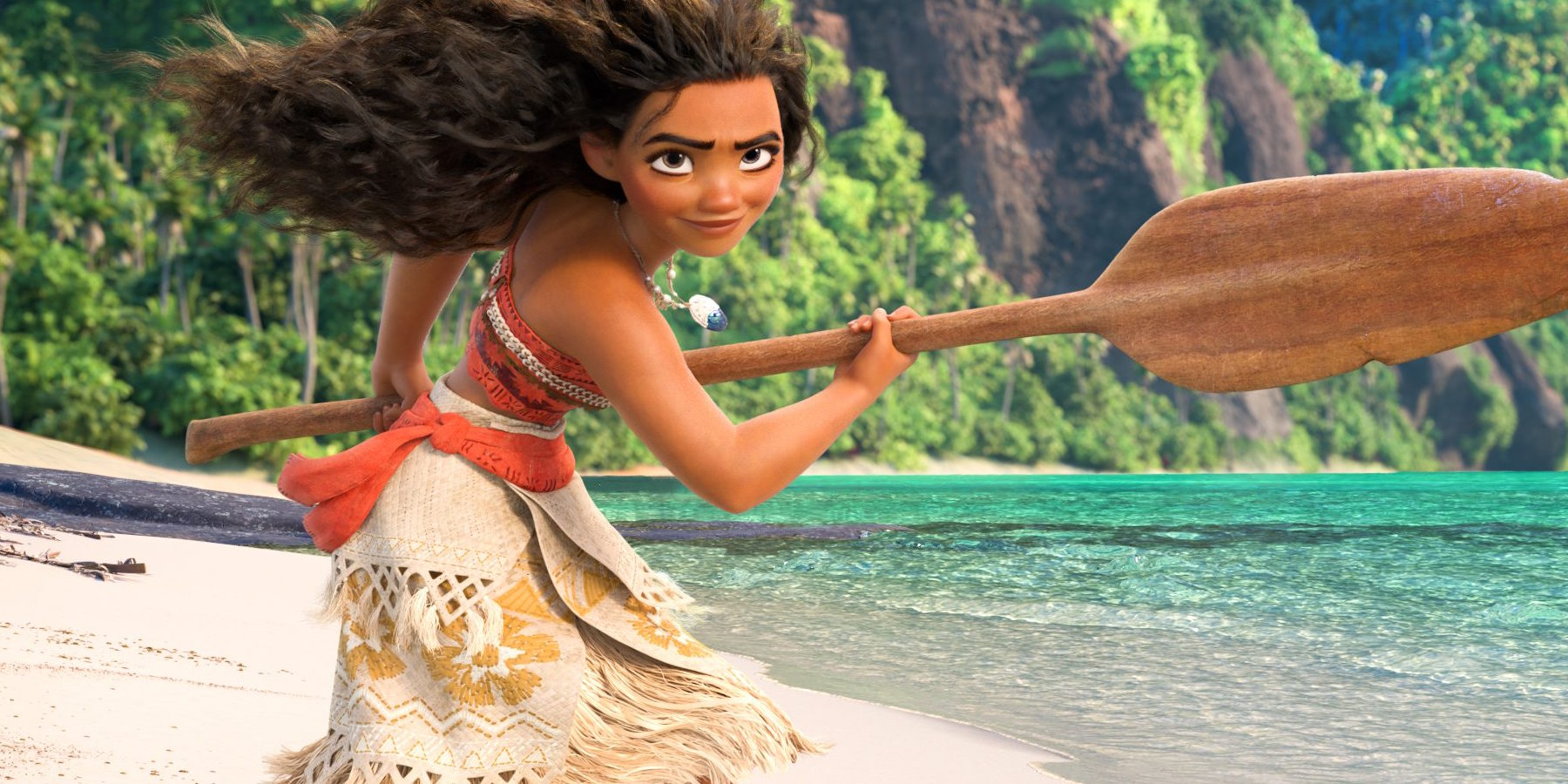 b40d8e081 On the younger end of the Disney princess spectrum, Moana isn't technically  a princess. Instead, she's the daughter of the chief of her people.
