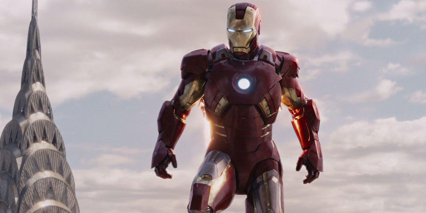 Iron Man's Mark VII In Avengers