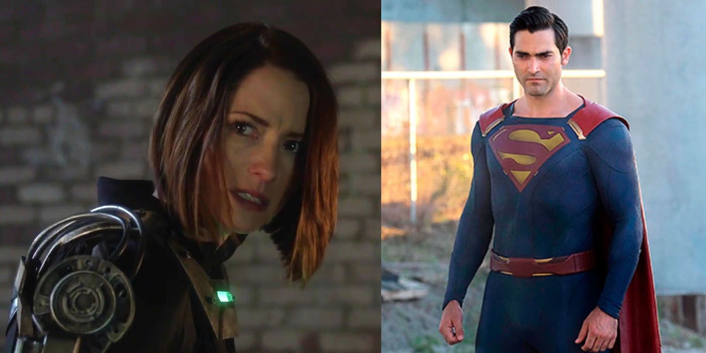 Alex Danvers Clark Kent Superman Supergirl CW Supergirl: Superman's Arrival Will Cause Conflict With Alex