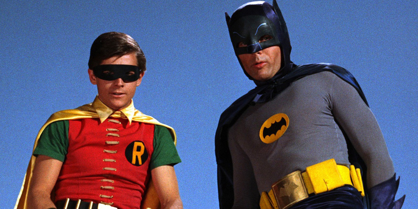 Burt Ward and Adam West in Batman