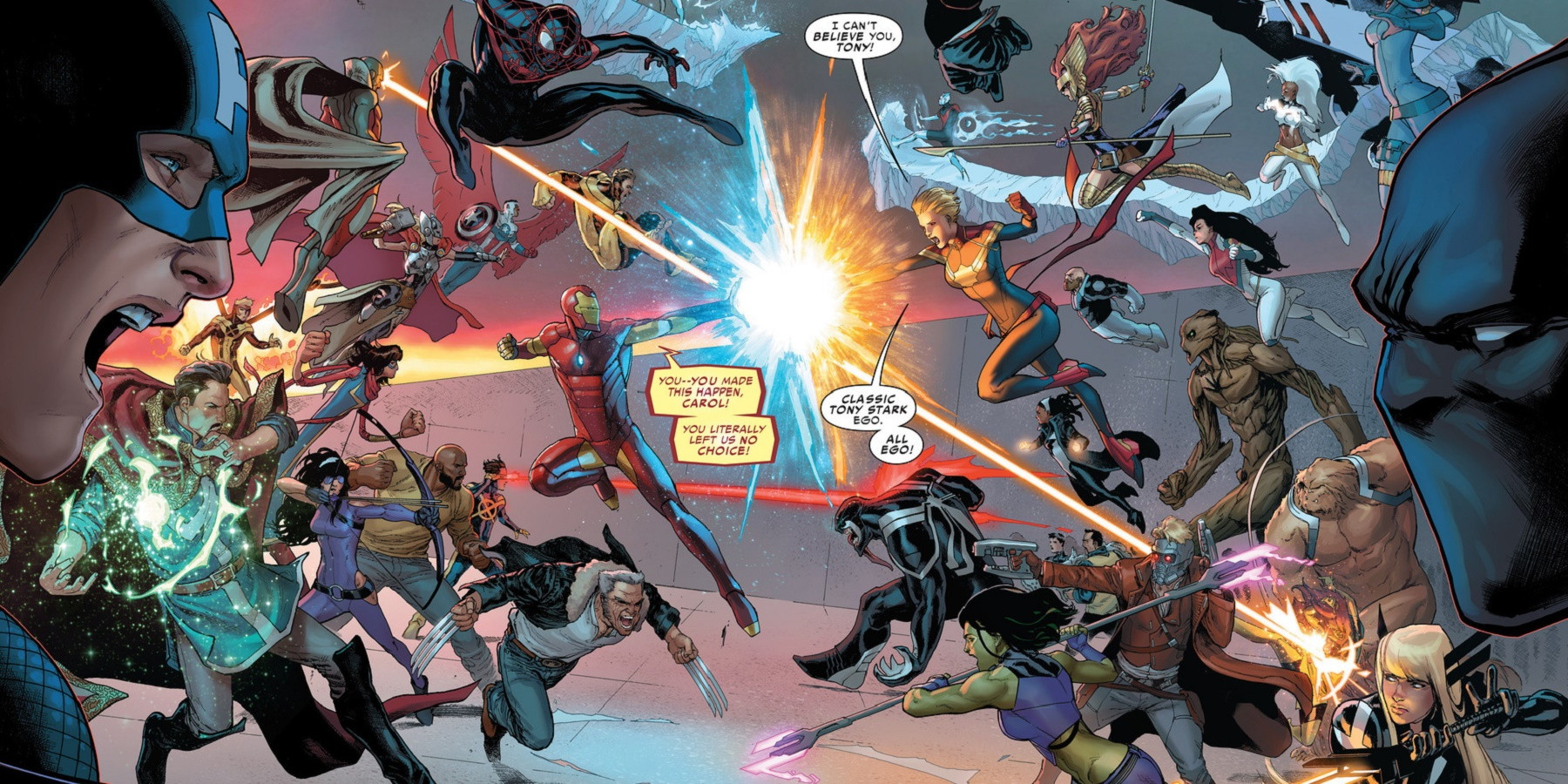 Marvel S Civil War Ii Reveals A Grim Future For Two Avengers