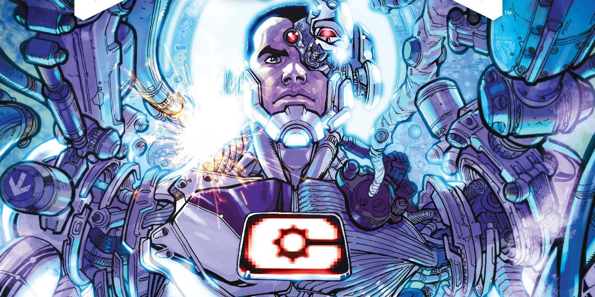Cyborg Rebirth Origin Alien Purge Justice League: Rebirth Reveals Cyborgs Alien Origins?