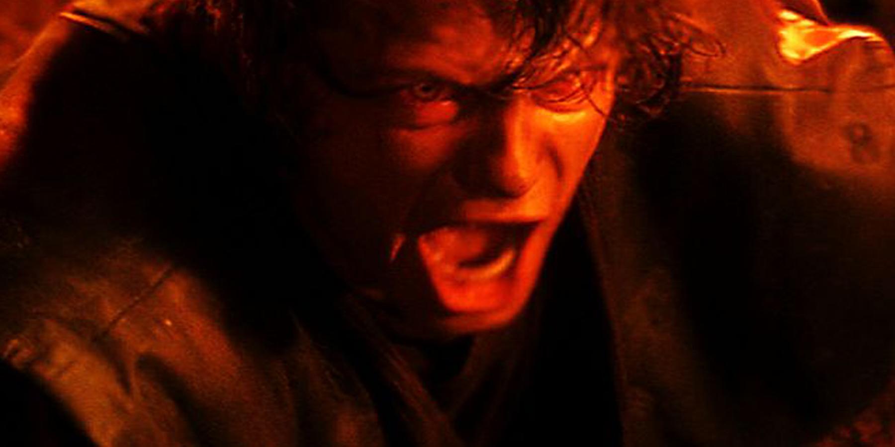Hayden Christensen as Anakin Skywalker in Star Wars Revenge of the Sith