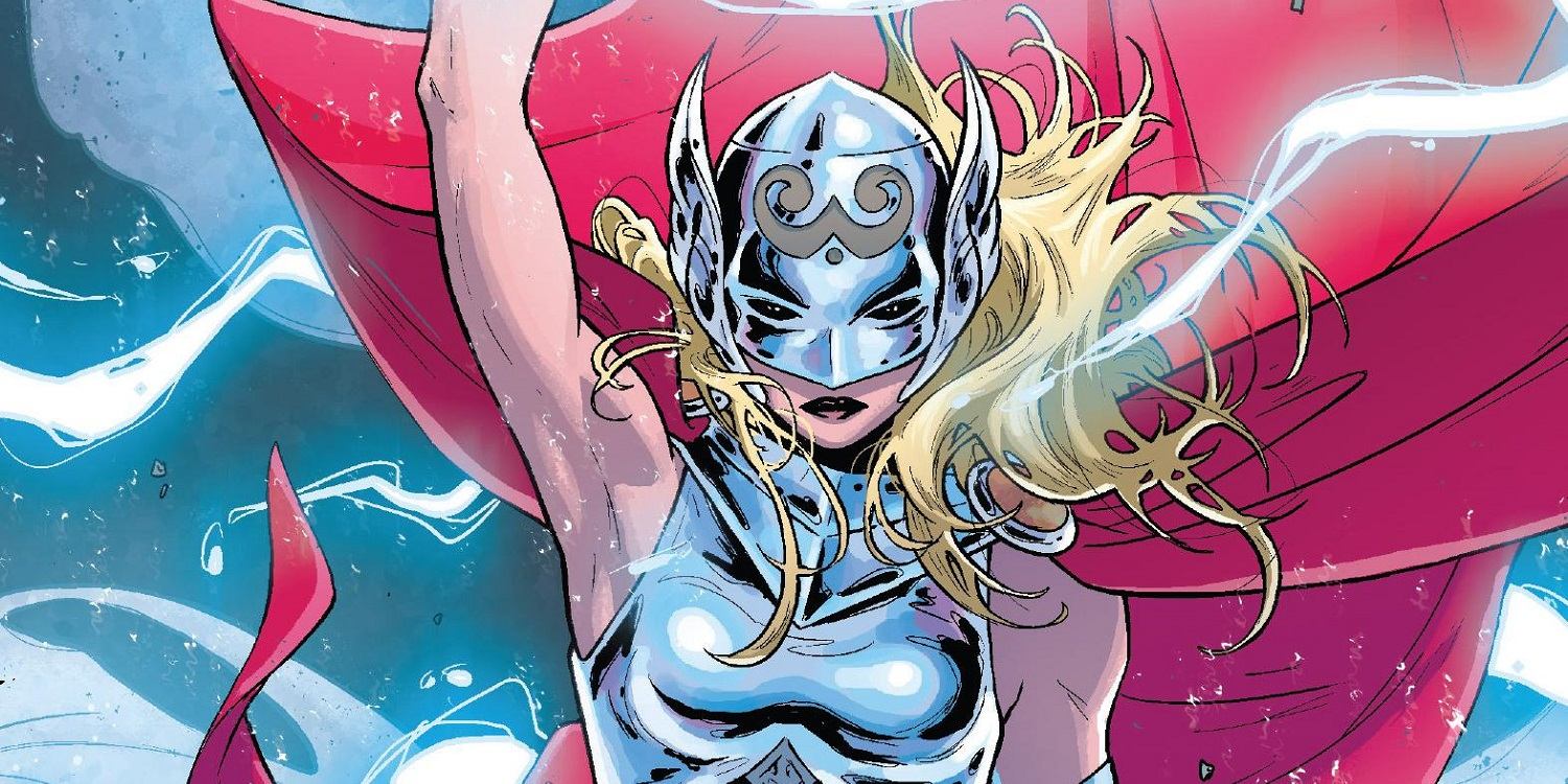 Jane Foster as the new Thor