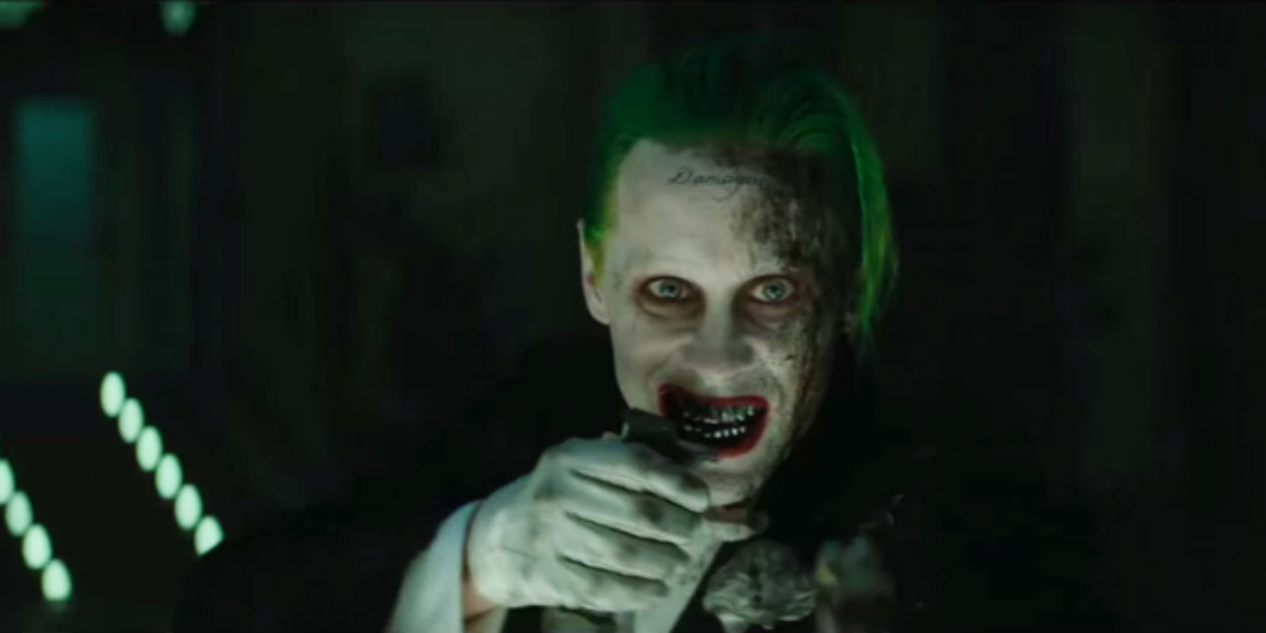 Jared Leto as the Joker cut scene in Suicide Squad