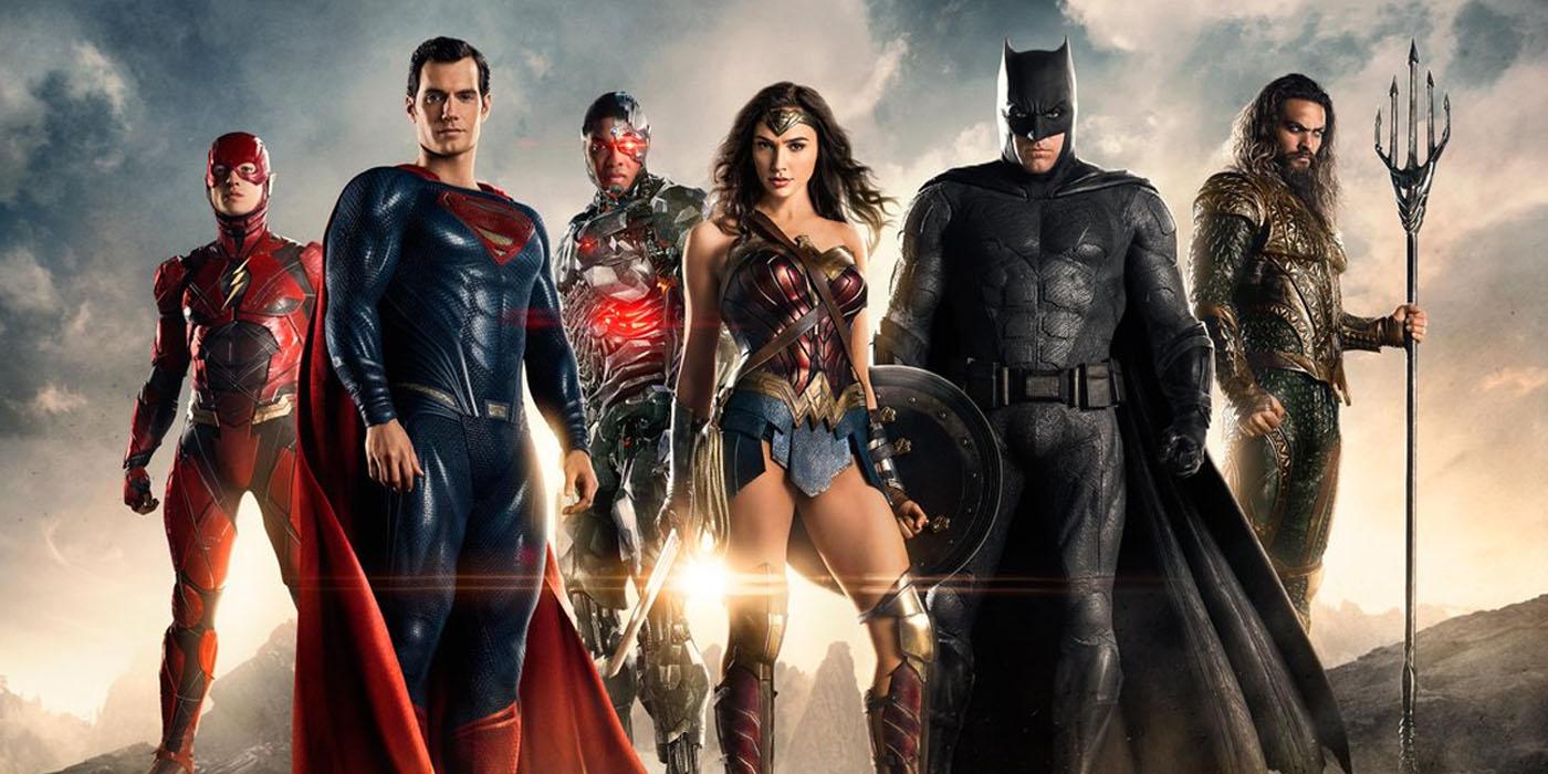 Justice League - Flash, Superman, Cyborg, Wonder Woman, Batman, Aquaman
