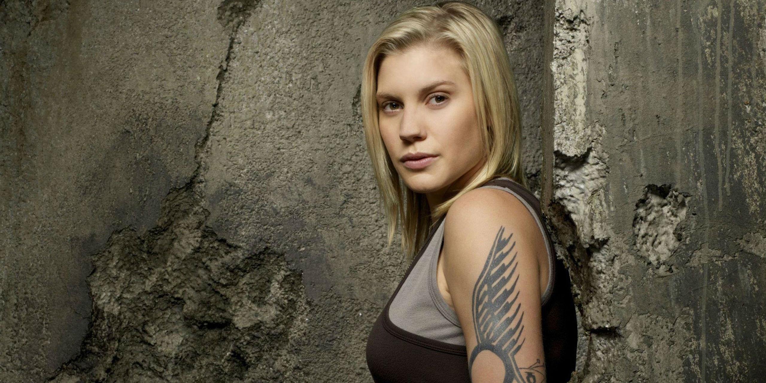 Kara Starbuck Thrace in Battlestar Galactica