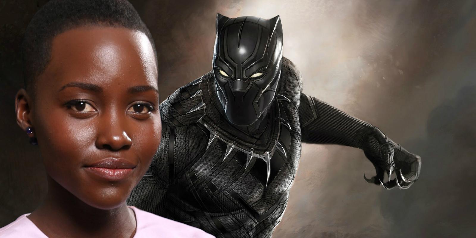 Lupita Nyong'o Black Panther banner