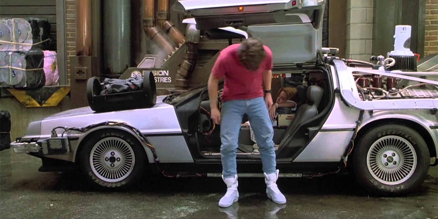 Back To The Future  Nike Shoes Scene