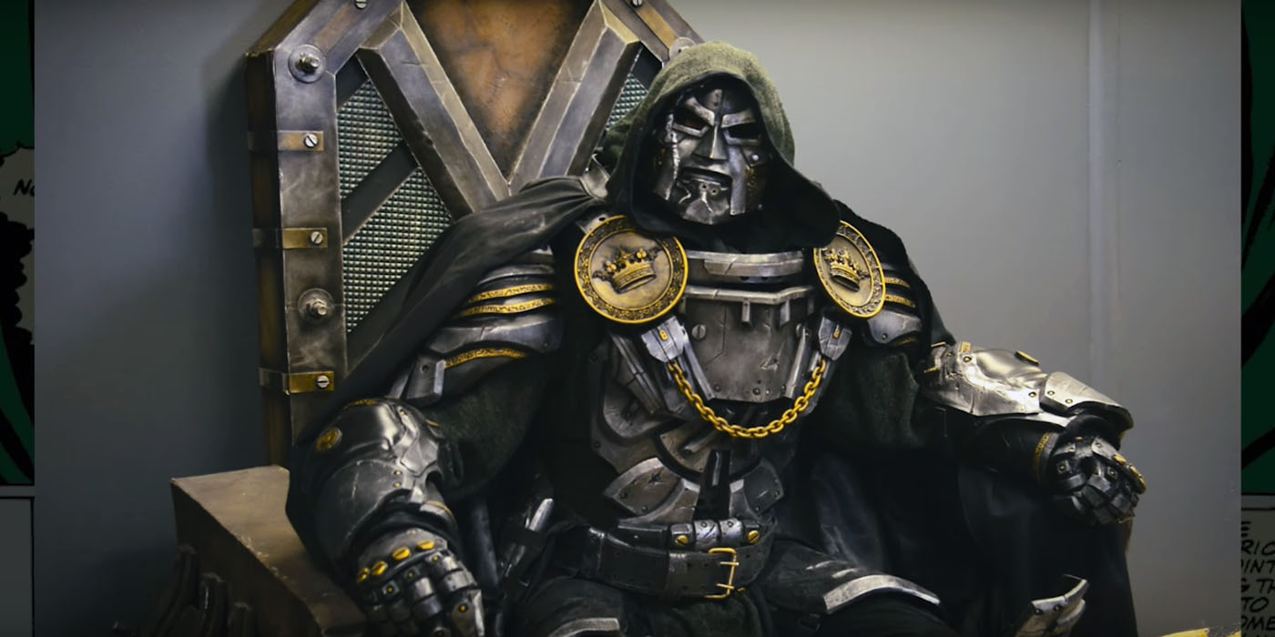 This Doctor Doom Cosplay Is Better Than Anything In The Movies