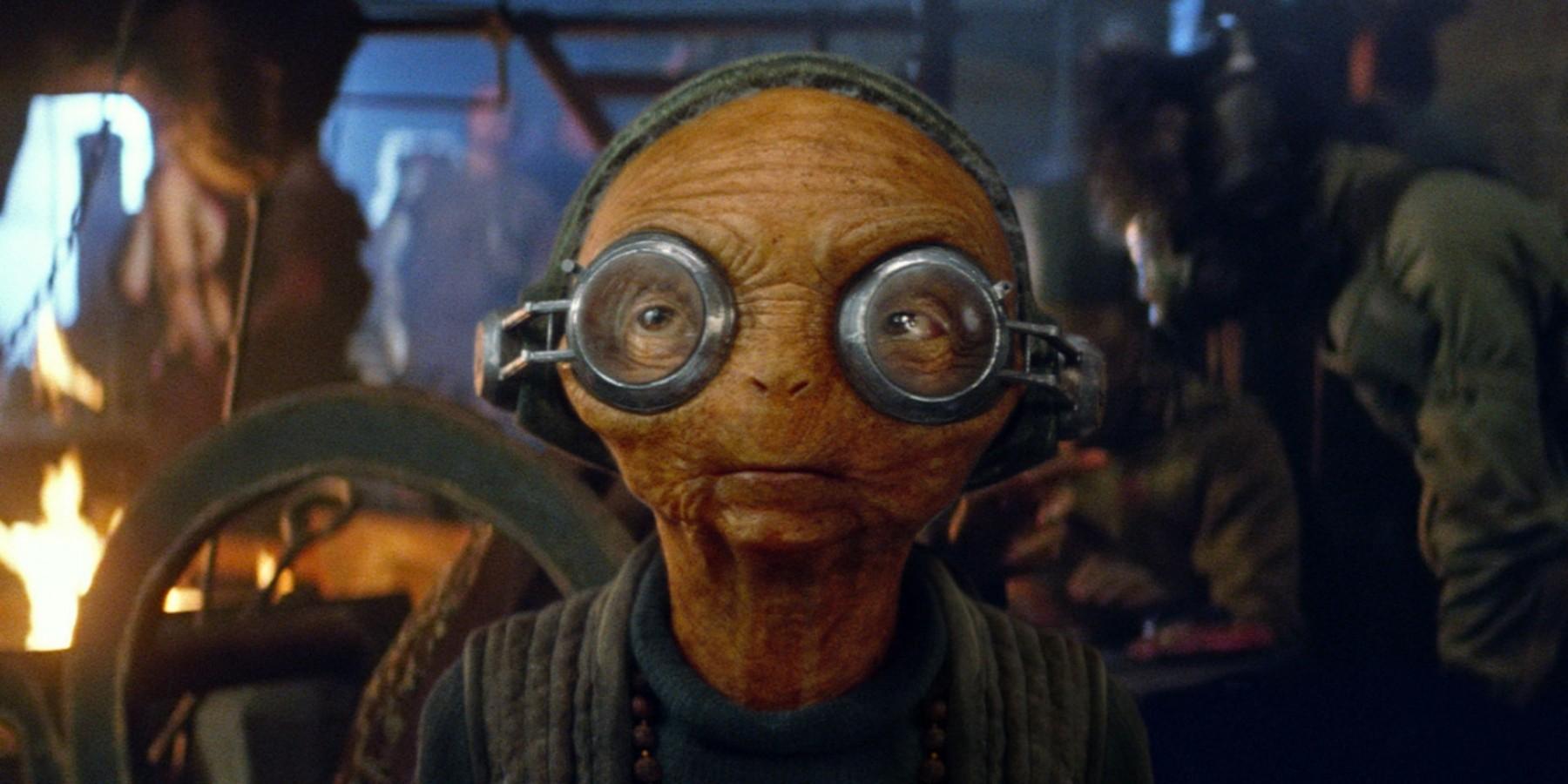 Maz Kanata Star Wars Episode 7 The Force Awakens