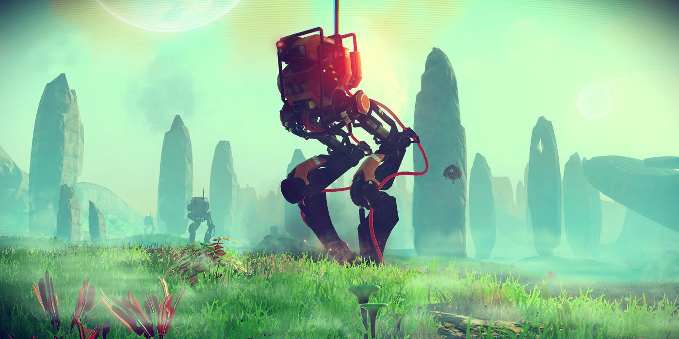 No Man's Sky Sentinel Walker
